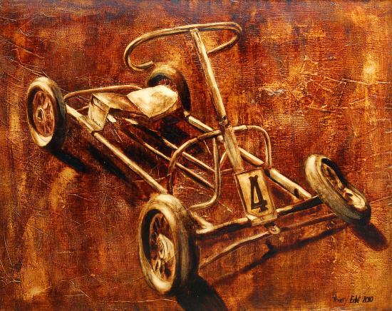 Le Kart à pédales
